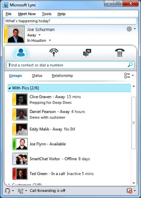 Коммуникатор Office 365