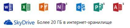 состав Office 365 для студентов